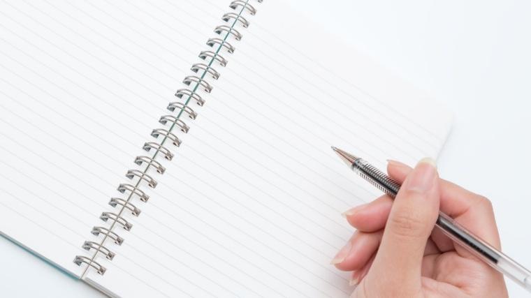 必要なのはペンと紙だけ!頭のデトックスにも!